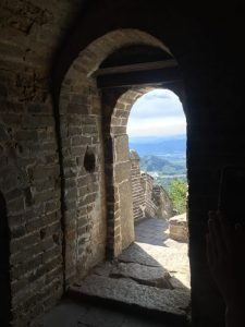 view from inside the Great Wall