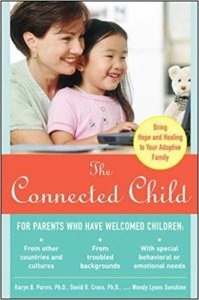 photo of the front cover of The Connected Child book by Karen Purvis and others